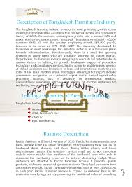 business plan sample on furniture 1 page 2