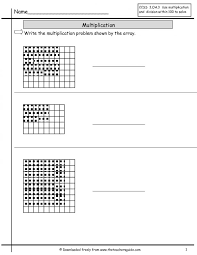 Math : array math worksheets Math Arrays Worksheets For 5th Grade ...
