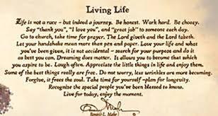 Bonnie Mohr Living Life Quote Impressive Bonnie Mohr Living Life Poem Home Design Ideas And Pictures