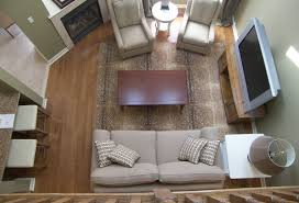 furniture in a small living room