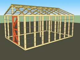 ilration of a small greenhouse
