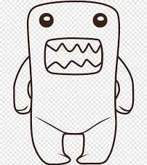 Find out the hello kitty coloring pages that will just give your little one immense fun. Domo Drawing Hello Kitty Coloring Book Domo Coloring Pages White Child Chibi Png Pngwing