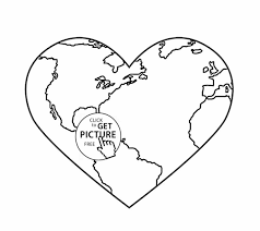 Small Picture Of The Earth Earth Day Coloring Page Free Pdf Download At Http Dr