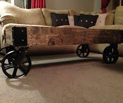 53 most wicked majestic caster rustic coffee table also diy wheel for wheels with large size