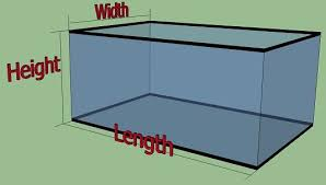 How To Calculate The Size Of Your Fish Tank Aquarium