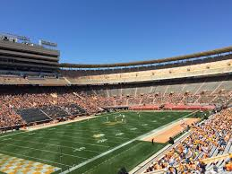18 Beautiful Neyland Stadium Seating Chart With Rows