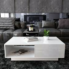 furniture modern white high gloss rgb