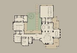 mexican style courtyard house plans