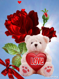 teddy bears with hearts and roses animated. Brilliant Bears Animated GIF Hearts Free Download On Teddy Bears With Hearts And Roses