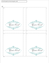 Word Cards Templates How To Make Your Own Place Cards For Free With Word And Picmonkey