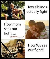 Siblings fighting | Funny Dirty Adult Jokes, Memes & Pictures via Relatably.com