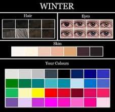 winter makeup parisons dark winter true winter bright winter notice how the