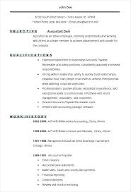 How To Create A Good Resume Best Example Of Good Resume 48 With Resume Format Accounting Resume