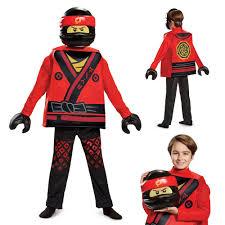 Boys LEGO Ninjago Kai Movie Deluxe Costume - Overstock - 17007938