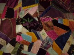 1.08 Crazy Quilt & Crazy quilt Over the years her bridle paths of alabaster threads gradually  defined a landscape: a random patchwork of cattle-ranches, rice fields and  farm ... Adamdwight.com