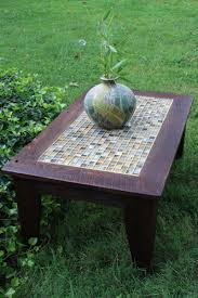 rustic furniture perth. Hand Crafted Coffee Table Tile Mosaic Reclaimed Wood Rustic Beach Perth Furniture G