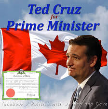 Image result for image ted cruz born in canada