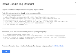 google manager installation guide