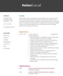 Graphic Designer Cv Example Hashtag Cv