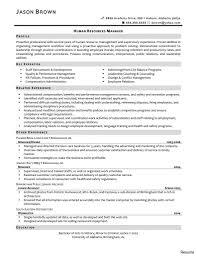 Human Resources Resume Summary Proyectoportal Com