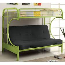 Ravens Contemporary Twin over Futon Bunk Bed - Bunk Beds \u0026 Loft ...