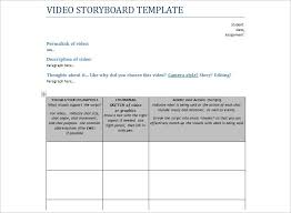 Script Storyboard Template Images - Template Design Ideas