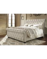 Amazing Deal Althea Upholstered Sleigh Bed