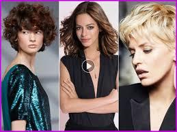 Coiffure Cheveux Courts Automne Hiver 2018 2019 Femme 40 Ans