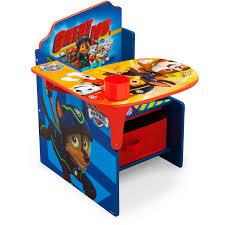 Kids Desk With Storage Delta Children Nick Jr Paw Patrol Chair Desk With Storage Bin
