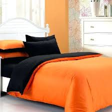 solid duvet covers orange bed linen duvet covers for hot fashion cotton solid black and