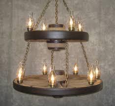 cartwheel chandelier metal wagon wheel chandelier all images stylish diy wagon wheel