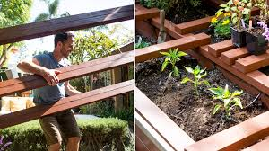 build a raised garden bed. Portable And Practical: A New Way To Build Raised Garden Beds Bed