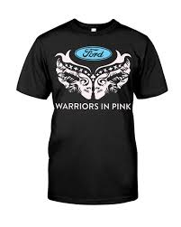 Ford cares Warriors In Pink - shirt