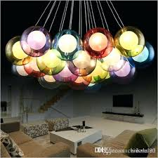 diy lighting modern led colorful glass pendant lights for living dining room bar home glass pendant lamp contemporary pendant light