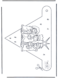 Vlaggetje Drie Wijzen Knutselen Kerst
