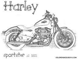 14 Dessins De Coloriage Harley L L L L L L