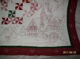 Absolutely Beautiful Redwork Christmas Quilt. & Thread: Absolutely Beautiful Redwork Christmas Quilt. Adamdwight.com