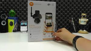 motorola outdoor camera. motorola focus 73 outdoor wireless camera unboxing