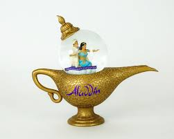 Aladdin Lamp Snowglobe