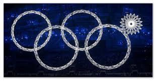 Олимпийские игры история от Древней Греции до наших дней  Пять олимпийских колец в Сочи