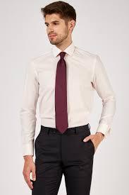 Romano Botta Plain Light Pink Cotton Dress Shirt
