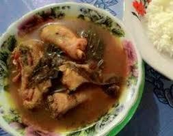 Vervolgens de belimbing toevoegen en zachtjes laten sudderen totdat de saus is ingedikt. Lempah Ayam Daun Kedondong Khas Bangka 3 Piring Sehari