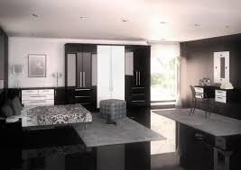 Phoenix Bedroom Furniture Phoenix Gloss Black White Bedroom Brosna Furniture Components