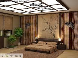 Modern Japanese Style Bedroom Design For Small Space Home