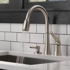 Brass Kitchen Faucets Kitchen The Home Depot