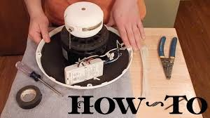 how to install ceiling fan remote receiver in motor housing