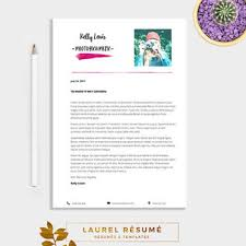 1 Page Resume Template Amazing Elegant Résumé Template 48 Pages Resume From LaurelResume On