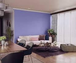 try intense purple house paint colour