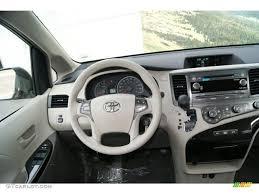 2012 Toyota Sienna LE Bisque Dashboard Photo #59947625   GTCarLot.com
