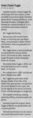 Obituary for Evelyn Tuggle (Aged 89) - Newspapers.com